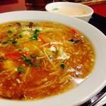 中国料理 東順永 - フカヒレかけ飯