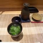 福半 - 料理写真:大七 貝の吸い物