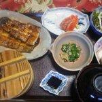 鰻料理 たけだ - 一本鰻定食2,600円