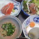 鰻料理 たけだ - 定食の小鉢