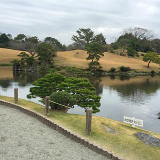 名所、水前寺公園すぐそば。
