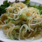上海式クラゲの冷菜
