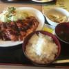 音吉やきとり - 料理写真:阿波尾鶏のチキンカツ定食 ¥700