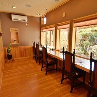 特別な静寂空間カウンター席「和敬庵」
