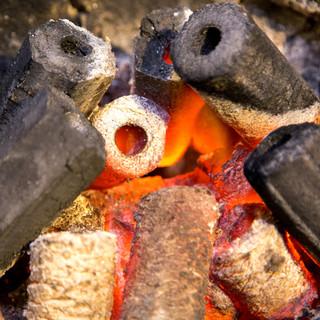 【高品質】さくら炭を使用。