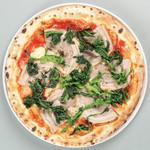 自家製ポルケッタとフリアルエッリのピッツァ
