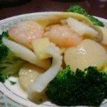 48359490 - 三種海鮮と季節野菜の炒め