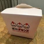 東桜チキンズ - からあげ弁当 400円 (外箱)