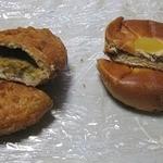 ベーカリーハウス アインコルン - カレーパンと栗あんぱん