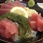 海邦丸 - 県産マグロ丼
