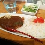 和's - 漢の牛スジカレー