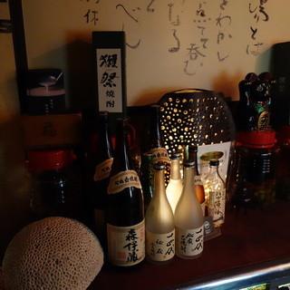 【お酒】種類が豊富!
