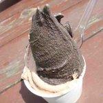 ウエモンズ ハート - ブラックカカオ、クッキークリーム