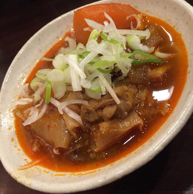 満うま 川崎本店 - 牛すじ煮込み(390円+税)2016年3月