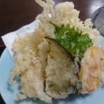 海鮮、定食、天ぷらと酒 舟源 - 天ぷらあっぷ