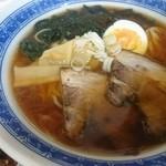 48372299 - 笹特製醤油(¥700) 粘度があるスープです