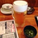 築地市場食堂 長野駅前店 - 生ビール100円