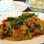 タイレストラン タニサラ - プーニンパッポンカリー