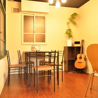 夜カフェ使いも◎隠れ家雰囲気の一軒家cafe♪