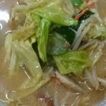 珉亭 - ロージャン タンメン(味噌味)  650円