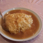 台湾料理 海鮮館 - 天津飯(ラーメンセット)