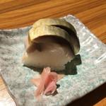 48378948 - つきだし 鯖棒寿司