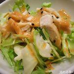 青龍門 - 棒々鶏サラダ