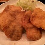 48382278 - 柔らか鶏かつ(おろしポン酢) ¥880