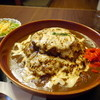 クッキングフォレスト - 料理写真:チーズハンバーグカレー800円