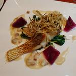 ボラーレ - 2016/3 ランチセット 真鯛のポワレ