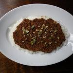 バランサ - 好評のCurry Balançaです。牛ひき肉&トマトをベースにシャープな辛さに仕上げています。