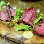 48396483 - 国産銘柄和牛肉5種盛り