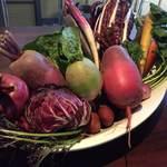 朝採り野菜のバーニャカウダ