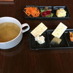 NORIZO - カップスープ 前菜6種