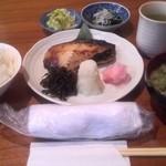 纏寿司 - 銀ダラ西京焼き¥1700(税込み)
