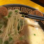 ラーメンやまびこ - やまびこ麺の麺リフト〜(*^◯^*)❤️