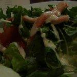 ビストロ・リヨン - 付け合せの ずわいのサラダ