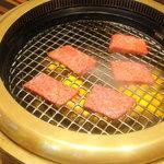 創作焼肉 神戸 牛乃匠 - ロース