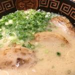 ラーメンやまびこ - やまびこ麺のアップ〜(*^◯^*)❤️