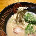 ラーメンやまびこ - ラーメン 麺リフト〜(*^◯^*)❤️