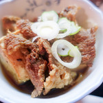 田舎料理 やまがた - 肉豆腐ハーフ追加