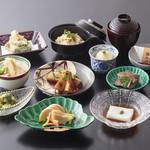いっぷく亭 - 白子竹の子懐石(竹の子ステーキ付き)8000円(税別)