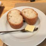 グリル小川 - ランチのパン