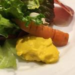 Piccolo ristorante CIBO SANO - 人参のペースト