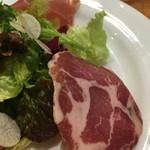 Piccolo ristorante CIBO SANO - 生ハム