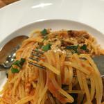 Piccolo ristorante CIBO SANO - 豚ひき肉のトマトソース煮込みソースのスパゲッティ