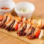 マヌエル タスカ ド ターリョ - お肉・海鮮の串焼き