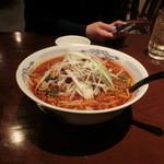 唐華 - 「麻辣刀削麺」780円