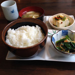 Jcafe - 料理写真:ランチ(730円)のメイン以外