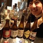 BEER JUNKIE MOTEL - ベルギー トラピストビールの勉強会しました〜